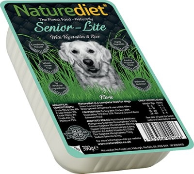 Naturediet senior/light 390g