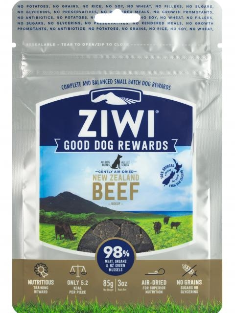 ZiwiPeak Dog treats beef 85g