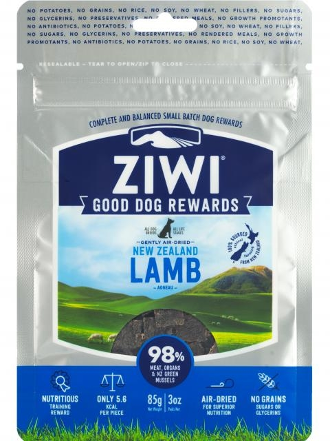 ZiwiPeak Dog treats lamm 85g