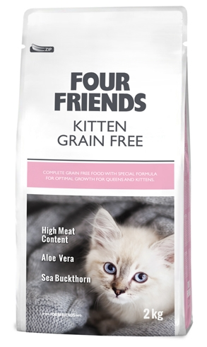 Four friends kitten grain free 2kg
