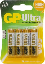 GP batterier AA 1,5V 4-pack
