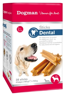 Dentalsticks medium/large 28-pack