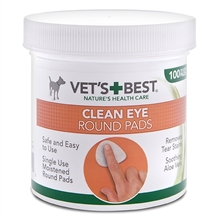 Vet´s Best Clean Eye pads 100-p