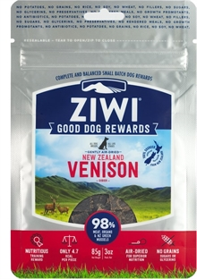 ZiwiPeak Dog treats hjort 85g