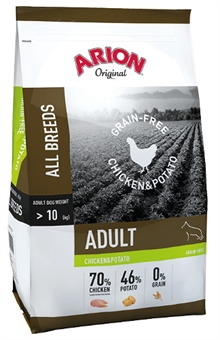 Arion No grain chicken & potato