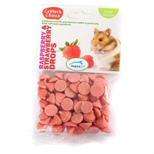 Raspberry & Strawberry Buttons 75g