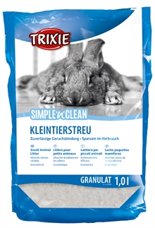 Simple´n Clean kristallsand gnagare 1L