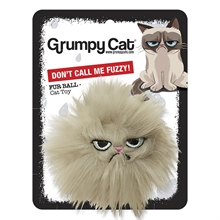 "Grumpy Cat Fur Ball ""Don´t call me fuzzy"""