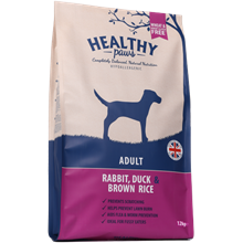 Healty Paws rabbit, duck & brown rice