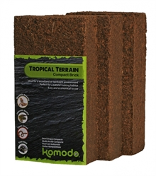 Tropical Terrain Brick 3-p 10x20x6cm