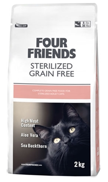 Four friends sterilized  grain free 6kg