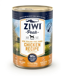 Ziwipeak dog chicken 390g våtfoder
